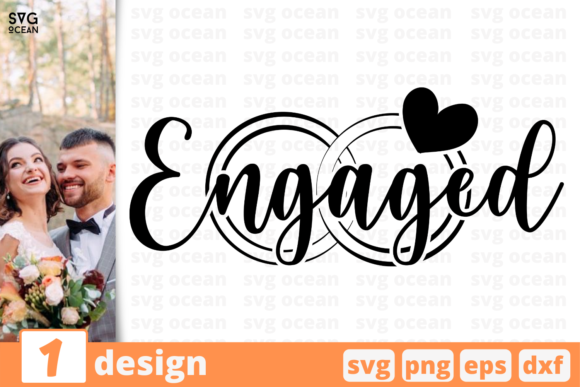 Print on Demand: Engaged for Cricut Graphic Crafts By SvgOcean