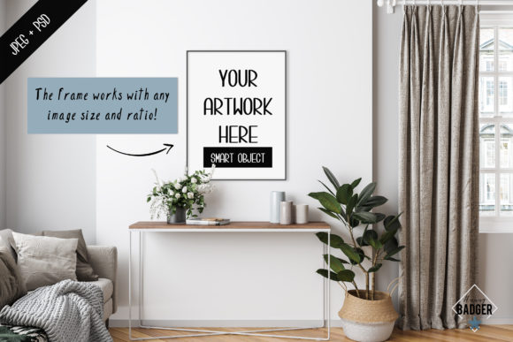 Frame Mockup Creator [All Image Size] Graphic Product Mockups By hunny.badger - Image 2