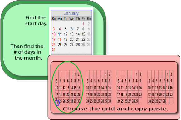 Generic Calendar Graphic Download