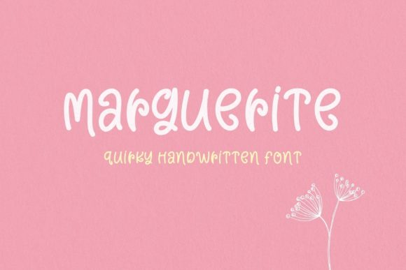 Print on Demand: Marguerite Script & Handwritten Font By AllaCreativa