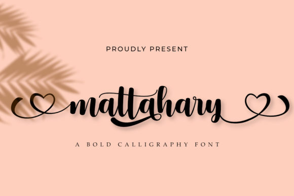 Print on Demand: Mattahary Manuscrita Fuente Por Madatype Studio