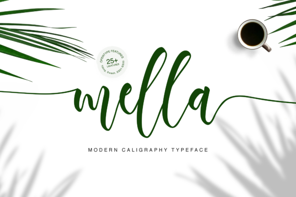Print on Demand: Mella Script & Handwritten Font By Letteratom