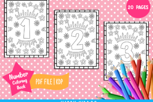 Number Coloring Book for Kids Graphic Coloring Pages & Books Kids By Happy Kiddos