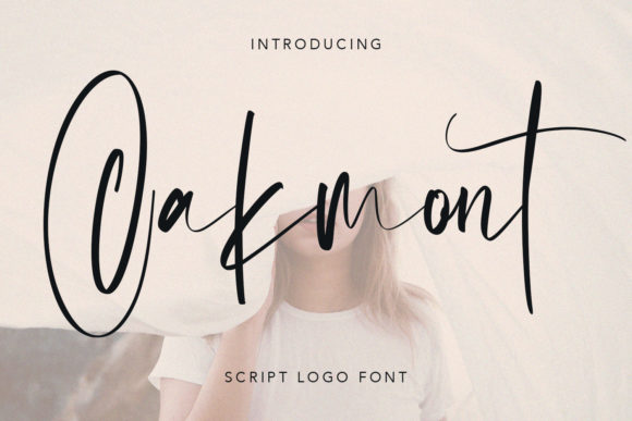 Print on Demand: Oakmont Script & Handwritten Font By Maulana Creative