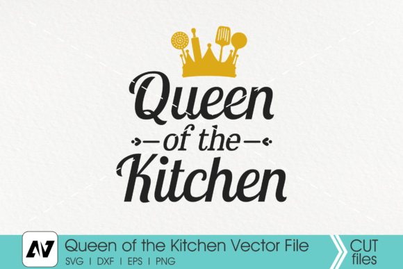Queen of the Kitchen Graphic Crafts By Pinoyartkreatib
