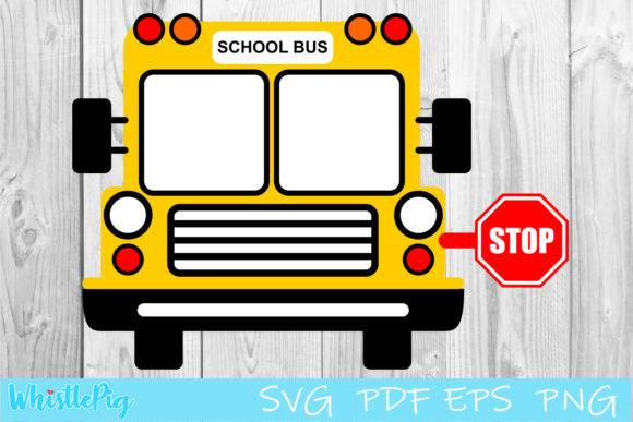 Print on Demand: School Bus Back to School Teacher Graphic Crafts By Whistlepig Designs