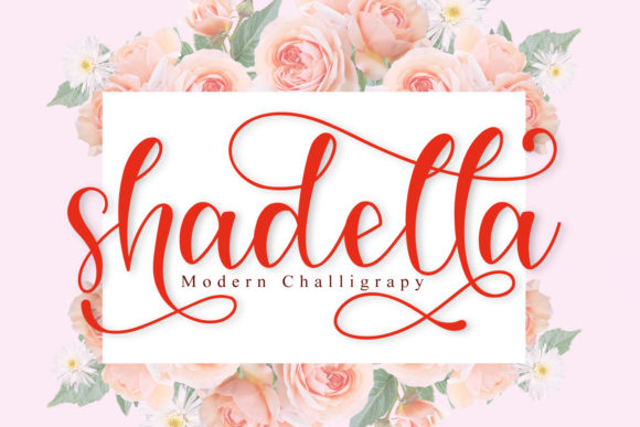 Print on Demand: Shadella Script & Handwritten Font By niyos.studio