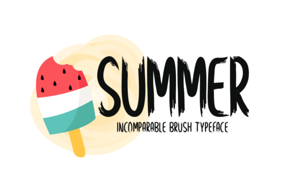 Print on Demand: Summer Display Font By Seemly Fonts