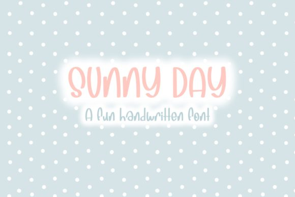 Print on Demand: Sunny Day Script & Handwritten Font By Fairways and Chalkboards