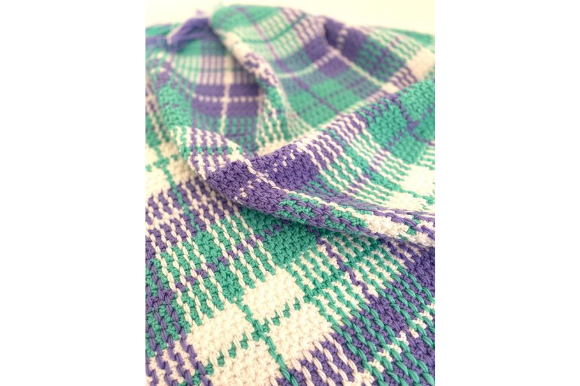 Tartan Crochet Blanket Pattern Graphic Patterns By myoumaralie