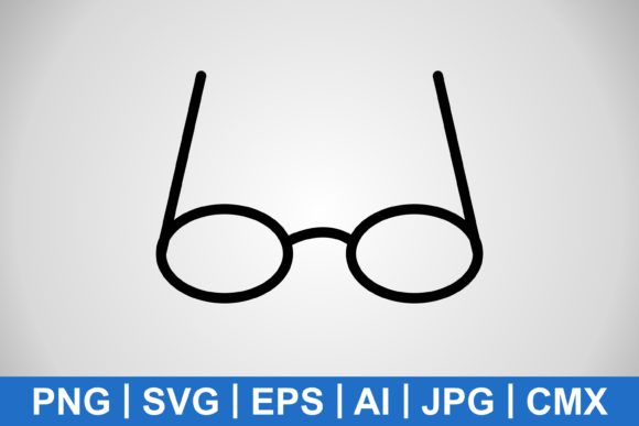 Print on Demand: Vector Transparent Glasses Icon Graphic Icons By IYIKON