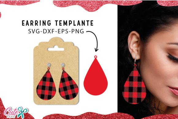 30 Earrings Templante Bundle Graphic Preview