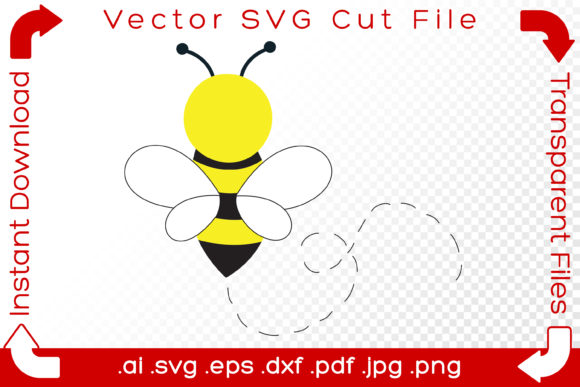 Print on Demand: Bumblebee Sketch Graphic Illustrations By iBearToo