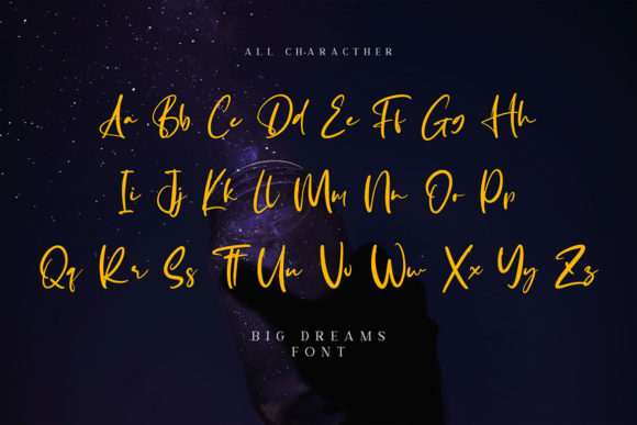 Big Dreams Font Design