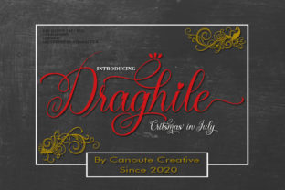 Print on Demand: Draghile Script & Handwritten Font By Canoute Creative