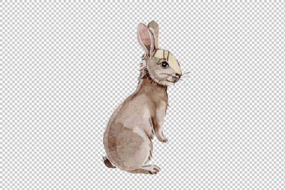Print on Demand: Easter Bunny Watercolor Graphic Illustrations By MyStocks - Image 3