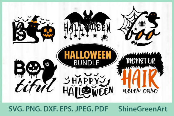 Free Halloween Illustrations Huge Bundle Available In All Formats