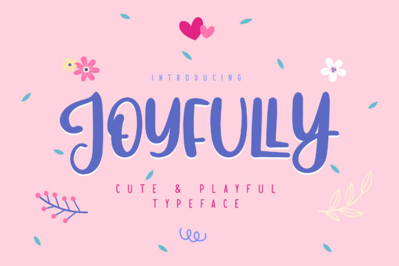 Print on Demand: Joyfully Sans Serif Font By Vunira