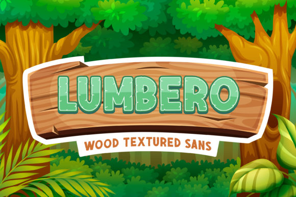 Print on Demand: Lumbero Display Font By almarkhatype