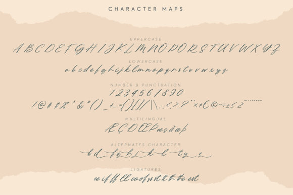 Northern Forest Font Preview