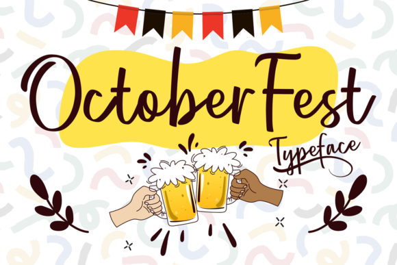 Print on Demand: October Fest Script & Handwritten Font By brithostype