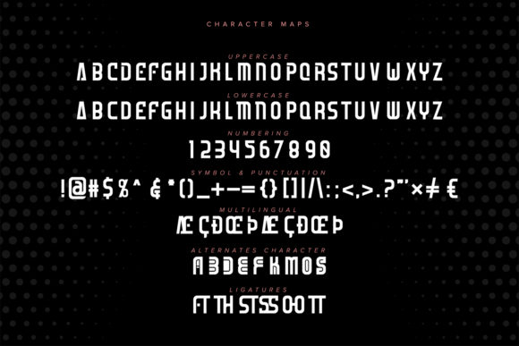 Starforce Font Preview