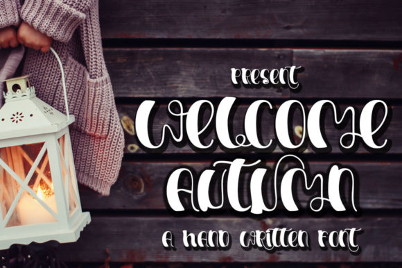 Print on Demand: Welcome Autumn Script & Handwritten Font By edwar.sp111