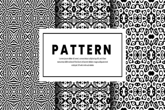 Print on Demand: Charming Abstract Pattern Graphic Patterns By hai hai