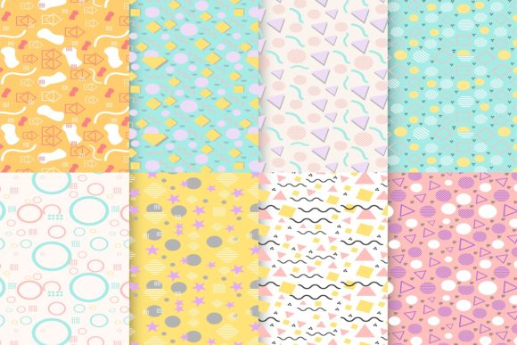 Print on Demand: Cute Colorful Pattern Graphic Patterns By hai hai