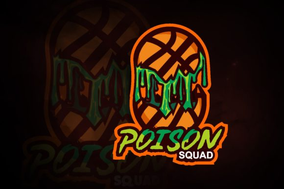 Poisons Basket Ball E-Sport Logo Graphic Logos By remarena