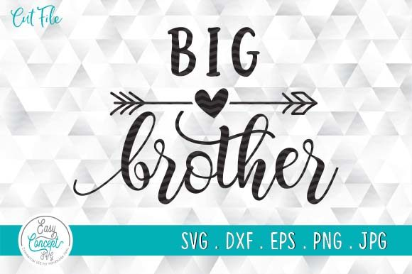 Big Brother, Baby Announcement Graphic Crafts By EasyConceptSvg