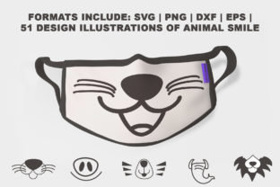 Print on Demand: Face Mask Collection 51 Designs Graphic Illustrations By thomasaradea