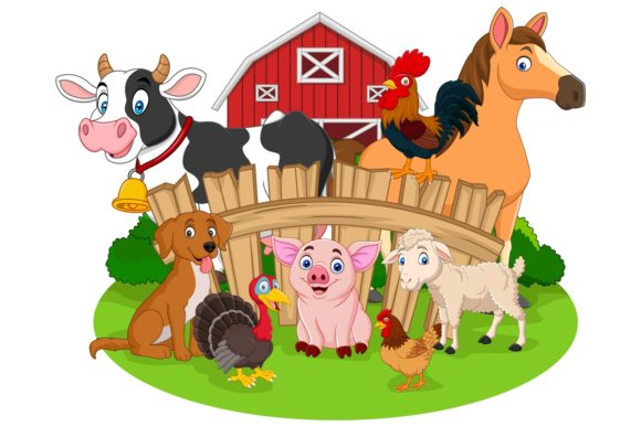 Farm Animals Bundles Graphic Illustrations By tigatelusiji