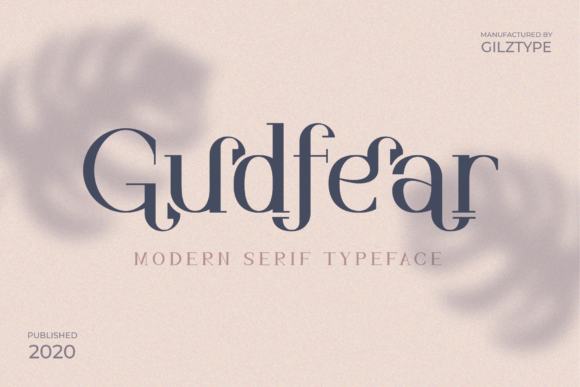 Print on Demand: Gudfear Serif Font By gilztype