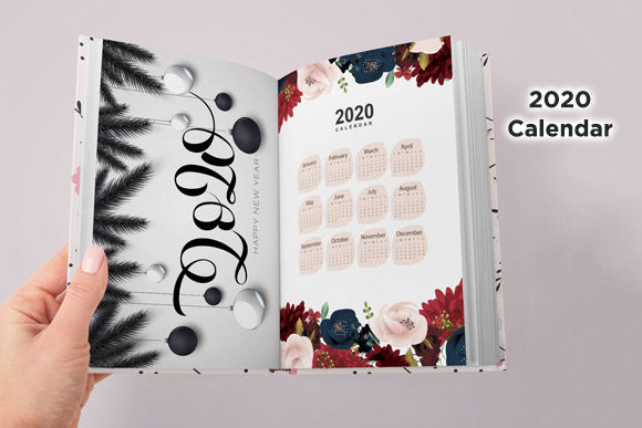 KDP 6x9 Princess Weekly Planner Graphic Image