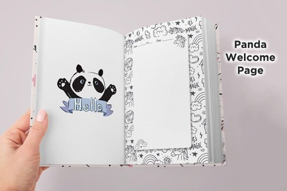 KDP Interior Unicorn Dotted Pages Vol.6 Graphic Item