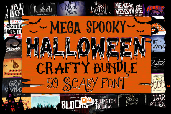 Print on Demand: Mega Spooky Halloween Crafty Bundle  von dmletter31