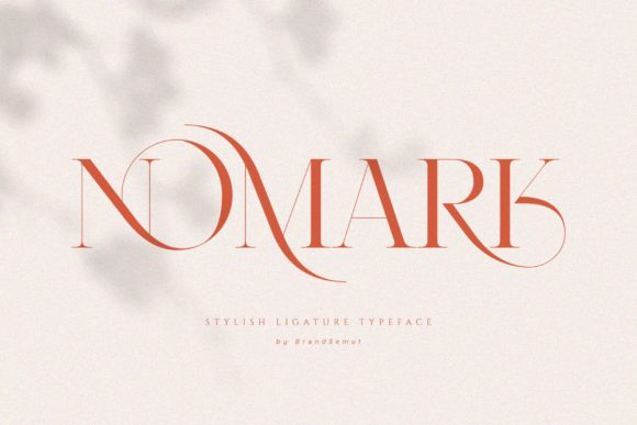 Print on Demand: Nomark Serif Font By BrandSemut