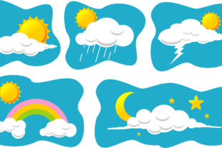 Print on Demand: Amazing Sun and Clouds Graphic Crafts By edywiyonopp
