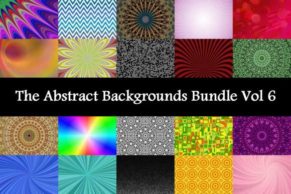 The Abstract Backgrounds Bundle Vol. 6  By davidzydd