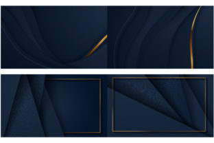 Print on Demand: Aper Art Abstract Background with Gold Graphic Backgrounds By iop_micro