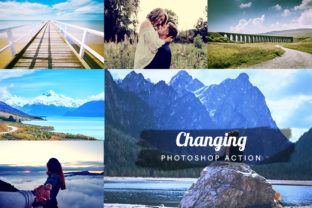 06 Changing -  Photoshop Action Graphic Actions & Presets By artgalaxy