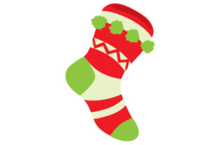 Christmas Stocking Christmas Craft Cut File By Creative Fabrica Crafts