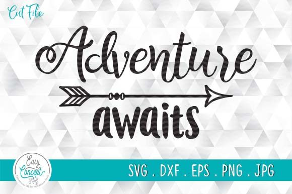 Print on Demand: Adventure Awaits, Travel Camping Graphic Crafts By EasyConceptSvg