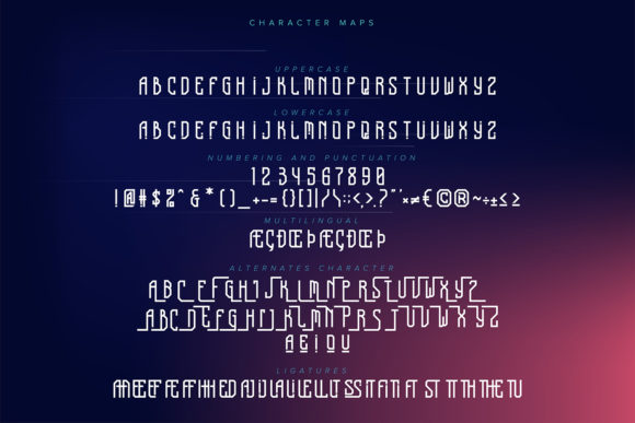 Adventure Strike Font Preview