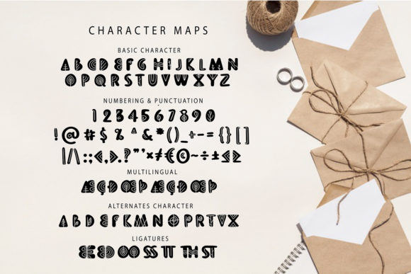 Aleena Groovy Font Preview