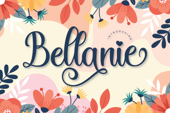 Print on Demand: Bellanie Script & Handwritten Font By ToniStudio