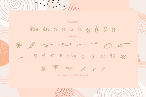 Betsy Bailey Font Design Item