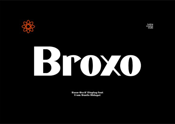 Print on Demand: Broxo Sans Serif Font By Luxima Creative