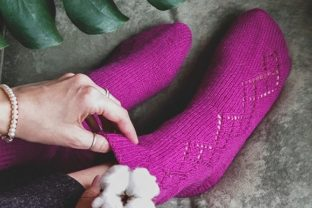 Bukva Socks Graphic Knitting Patterns By Neatly Knit Store